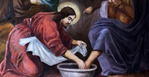 Christ's example of loving service